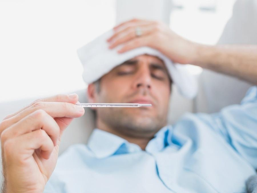 Температура при простуде у взрослого человека