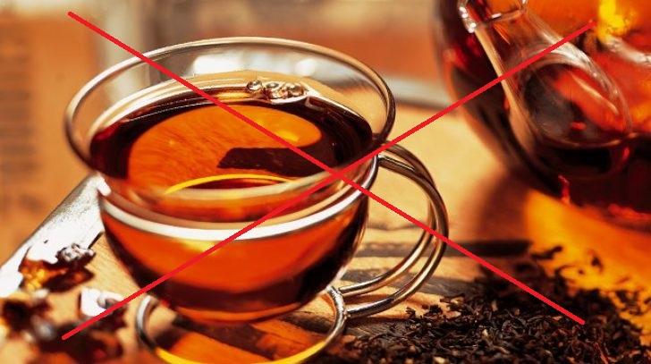 Исключение чая перед анализами