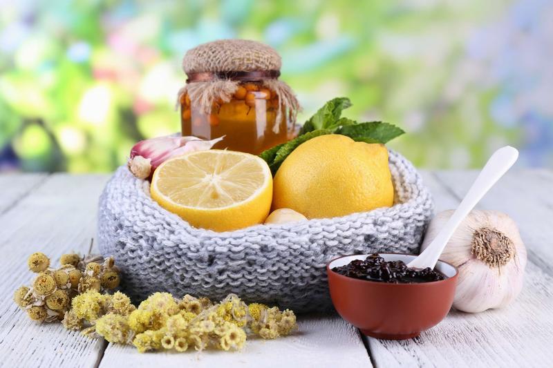 Набор народных средств для лечения аллергии