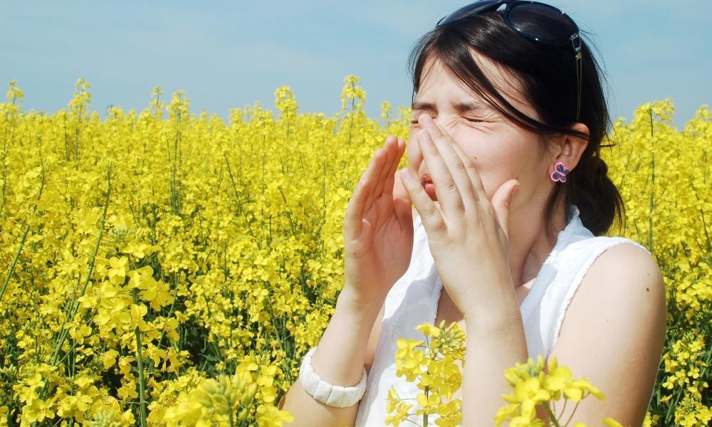 Сезонное проявление аллергии