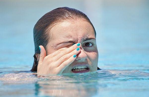 Аллергическая реакция в бассейне
