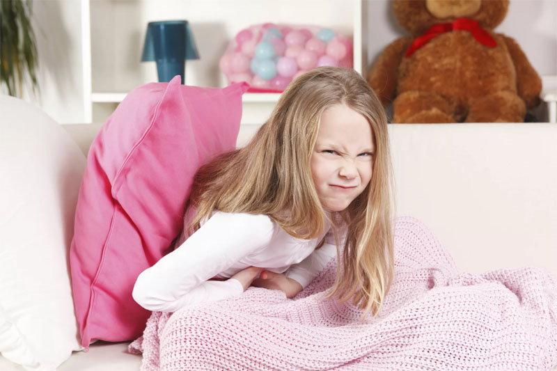 Вздутие кишечника у ребенка