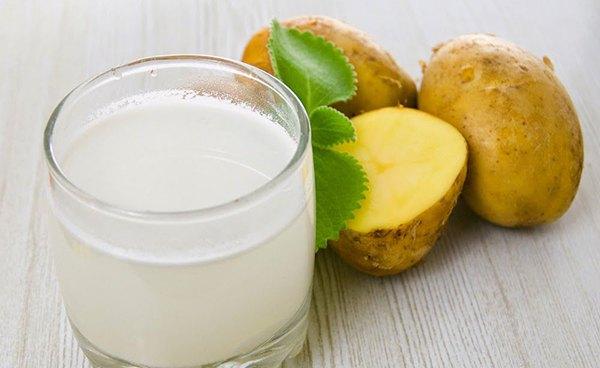 Сок сырого картофеля