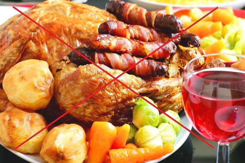 Отказ от вредной пищи и алкоголя