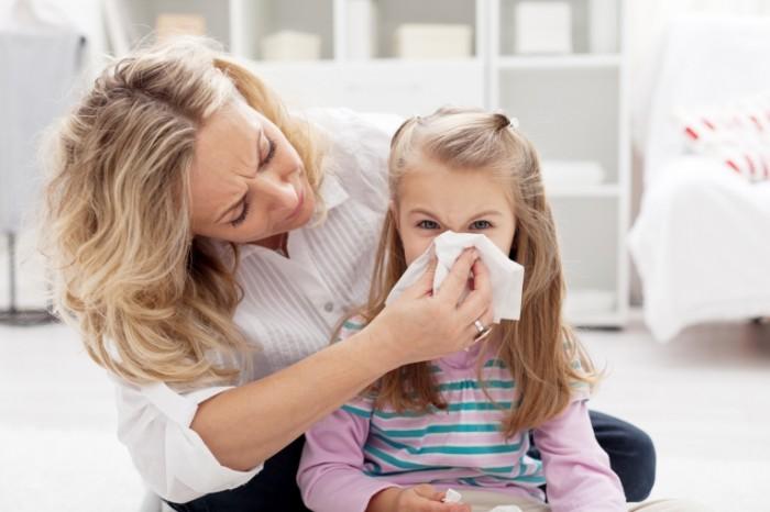 Ребенок с аллергическим бронхитом