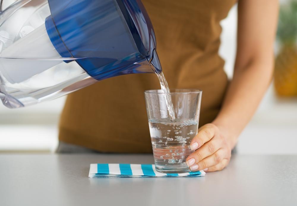 Употребление фильтрованной воды