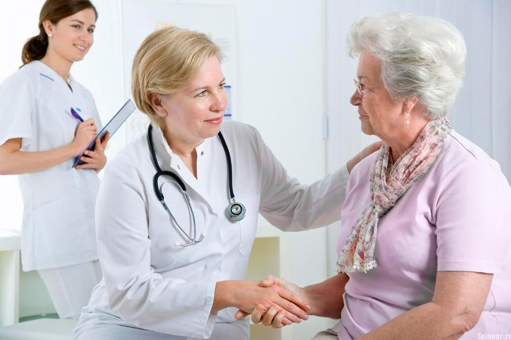 Рекомендация врача для пожилого человека