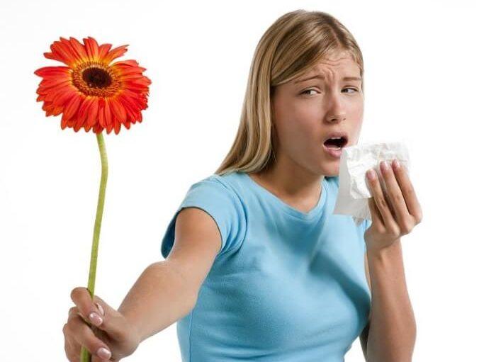 Аллергия у взрослой женщины