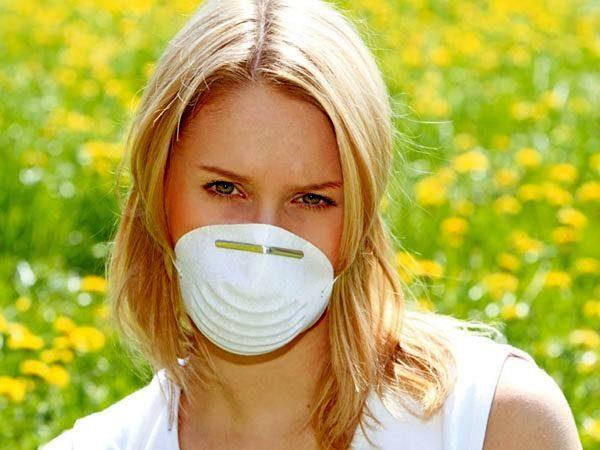 Специальная маска от пыльцы