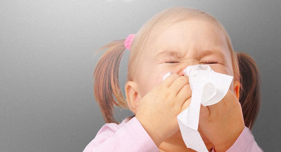 Ребенок с аллергией