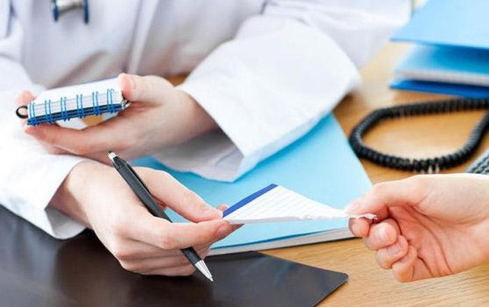Назначение врачом
