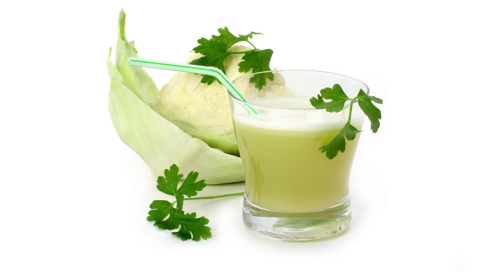 Свежий капустный сок