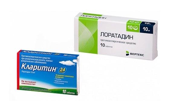 Антигистаминные препараты при крапивнице