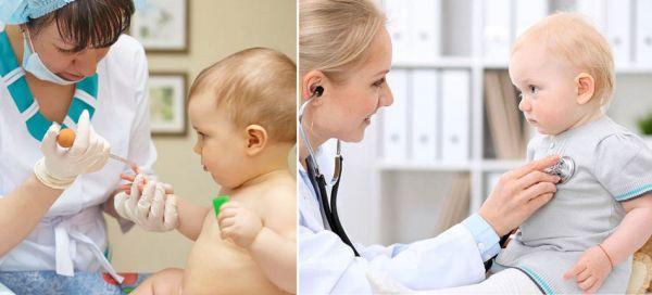Осмотр у врача и сдача анализов