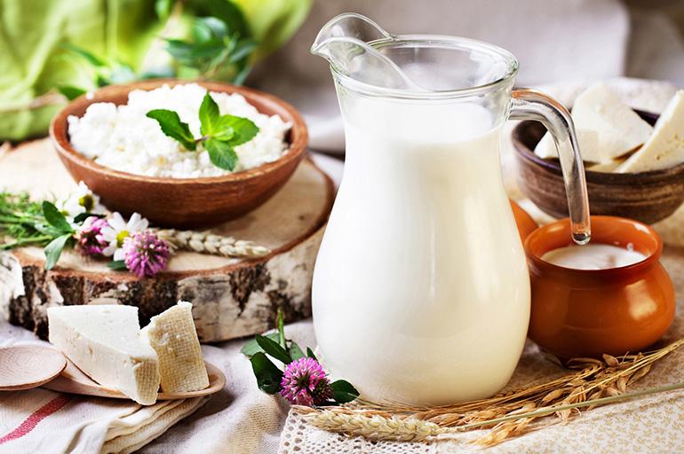 Молоко